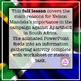 Why was Nelson Mandela so important in South Africa - worksheet and powerpoint