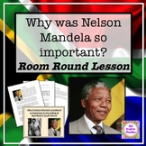 Why was Nelson Mandela so important in South Africa - work