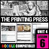 Why was the invention of the printing press considered a turning point?