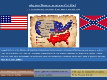 Why was there an American Civil War?