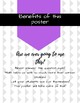 Why we learn math- Free Printable Class Poster