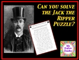 Why were the police unable to catch Jack the Ripper in 1888? Puzzle