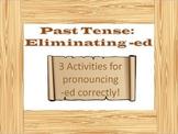 ESL: Pronunciation: Regular Past Tense Verbs