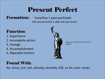 Wicked Fun English: Present Perfect Complete Package