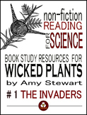 Wicked Plants Invasive Species Nonfiction Book Study Resources