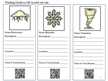 Weather Research Unit and Lapbook Project