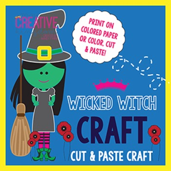 Wicked Witch Wizard of Oz Craft