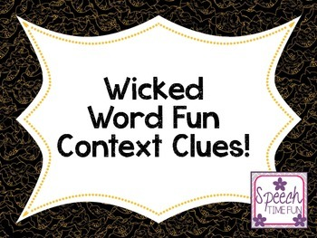 Wicked Word Context Clues