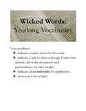 Wicked Words of the Week