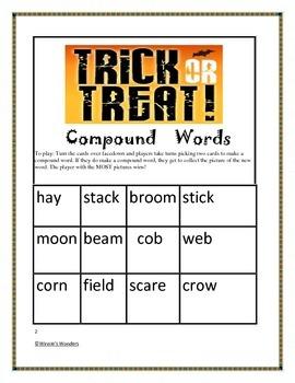 Wickedly Fun October Word Activities