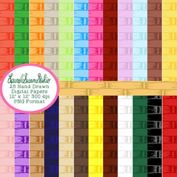 Wicker Background Paper Bundle Digital Cover Page PNG Comm