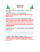 Wicketball Handout and Worksheet