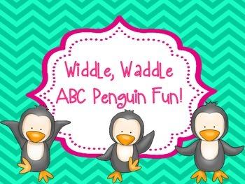 Widdle, Waddle ABC Penguin Fun!