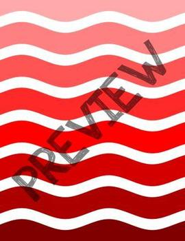 Wide Ombre Waves Backgrounds