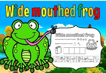 Wide mouthed frog(free for 48 hours)