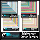 Widescreen 16:9 Season Borders Bundle - Google Slides™ and PowerPoint™