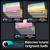 Widescreen Textured 16:9 Backgrounds Bundle - Google Slide