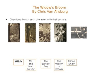 Widow's Broom by Chris Van Allsburg