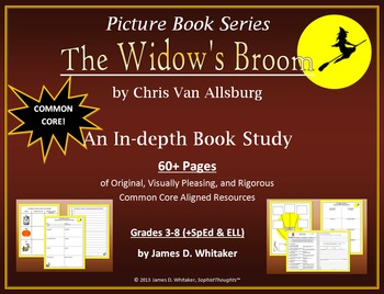 Widow's Broom Book Study Chris Van Allsburg Common Core
