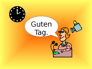 Wie geht's / Greetings / Saying how you are