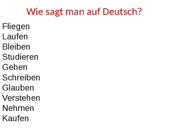 Wie geht's? / How are you? / Introductions / Greetings