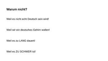 Wie soll ich auf Deutsch schreiben