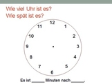 Wie viel Uhr ist es?  Learning to Tell Time