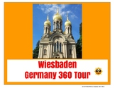 Wiesbaden Germany Tour Project - Digital or Printable - distance learning