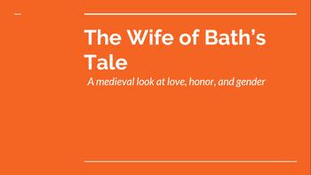 Wife of Bath's Tale: One Week Unit