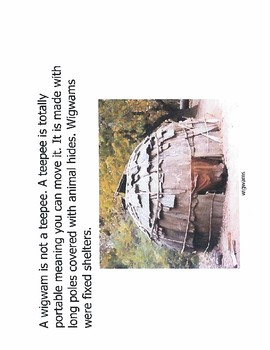 WigWams Native American Housing
