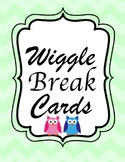 Wiggle Break Cards