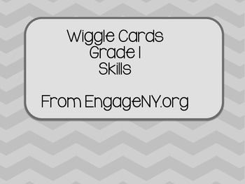 Wiggle Cards