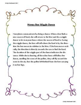 Wiggle Honey Bee Dance