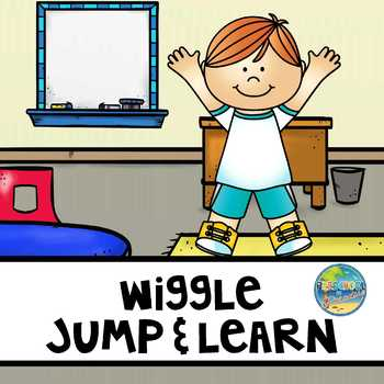 Wiggle, Jump, and Learn at Circle Time