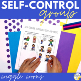 Self-Control Counseling Group Wiggle Worms #sweetcounselor