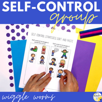 Self-Control Counseling Group Wiggle Worms- School Counseling Group
