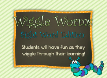 Wiggle Worms Sight Words