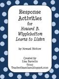 Wigglebottom Response Activities