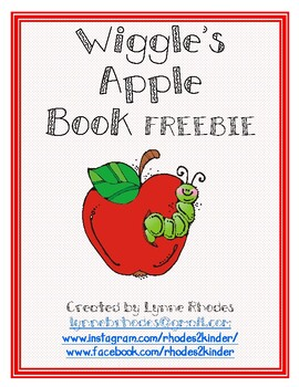 Wiggle's Apple Book (Positional Words)