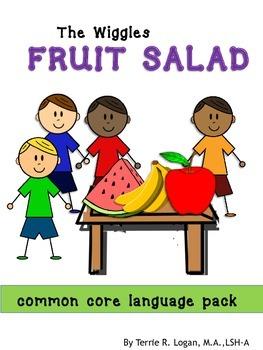 WIGGLES FRUIT SALAD  LANGUAGE PACK