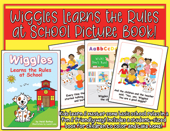 Wiggles Learns the Rules at School - Picture Book