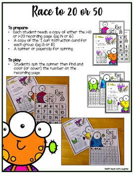Wiggly Eyes Math Activities