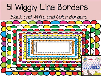 Wiggly Line Borders