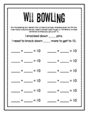 Wii Bowling Forming Groups of 10