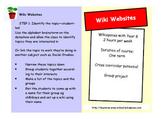 Wiki Website Project Pocket Guide