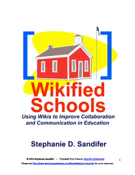 Wikified Schools - Improve Communication and Collaboration (eBook)