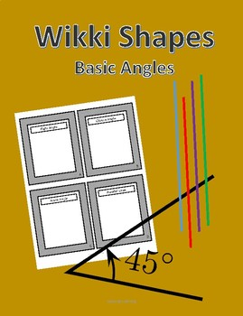 Wikki Shapes - Basic Angles