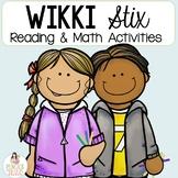 Wikki Sticks ELA and Math Centers : Fun Activities to use