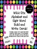 Wikki Stix Build and Write Letters and Sight Word Cards