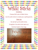 Wikki Stix Word Work